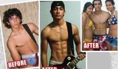 瘦人走出增肥误区,要增肌不要增肥.