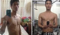 增肌21斤,瘦子练肌肉需要狠.
