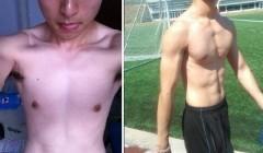 男人增肥16斤――做个男人就要像个男人