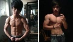 健身1年半对比照片