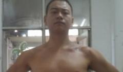 4个月的减肥成果96KG-80KG,训练必须狠。