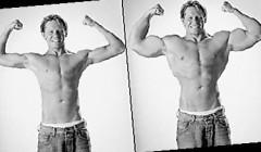 瘦人如何才能增加体重,坚持力量训练等待收获的季节。