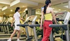 十一长假忙健身 国人健身意识与日俱增