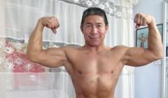 健美常青树62岁陈师傅贵在坚持