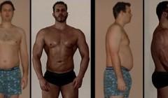 肥佬5年时间蜕变成肌肉男