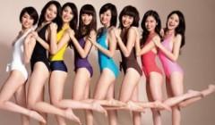 女人形体10标准