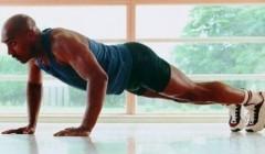 图示六种俯卧撑组合锻炼胸部肌肉