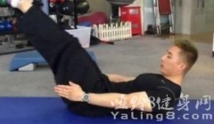 如何锻炼下腹肌――仰卧举腿