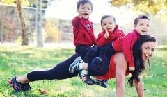 3个孩子辣妈一样拥有好身材