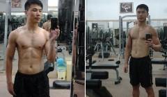8个月健身效果