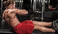 仰卧起坐练腹肌靠谱?负重卷腹怎么做(视频)