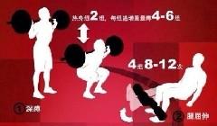 图解增肌训练计划(6张)