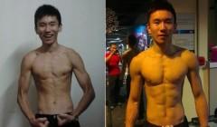 人瘦怎么健身――3个月前100斤不到