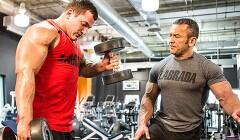译文:手臂肌肉锻炼的八大动作