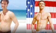 同样体重(165磅)一个是型男一个是...