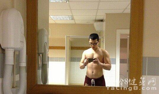 不亚博app下载安装不男人(1年半增重36斤)