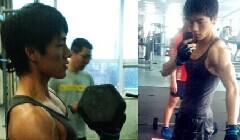 100斤不到的男人增重20斤历程