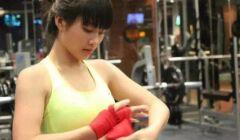 越南最美17岁拳击妹子,相甜美清纯,身材十分有料!