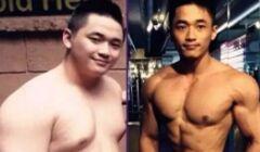 健身改变我!6个最励志的健身榜样!