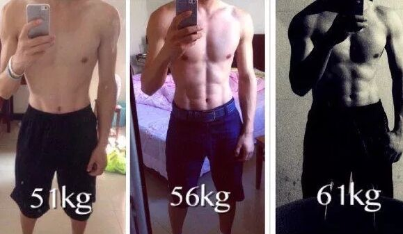 我1年增肥28斤谈谈身体太瘦怎么增肥增肌