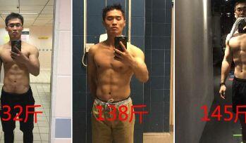 瘦人u乐娱乐youle88吃悍金斯增重30斤晒前后对比照
