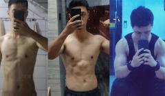 瘦人增肌需要多久?看我增肌六个月成果